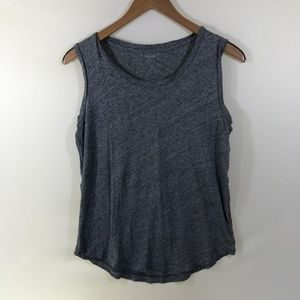 Madewell Simple Gray Tank Top Size S